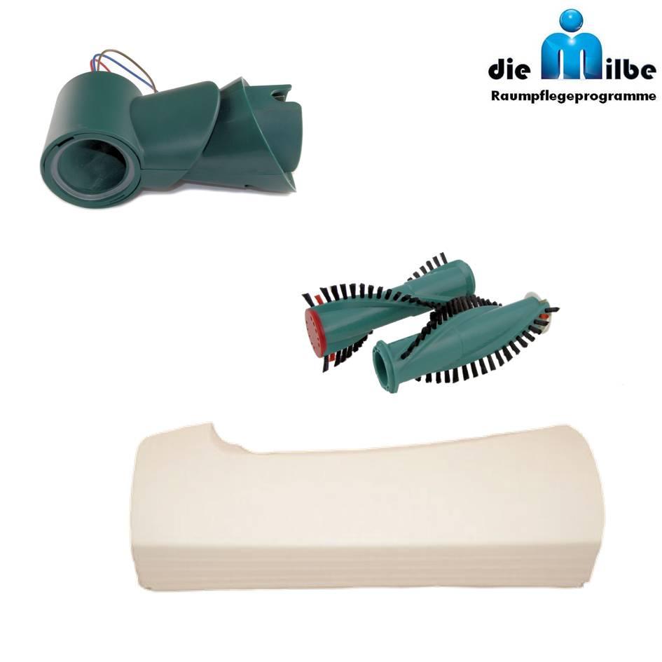 1 Paar Bürsten Reparatur-Gelenk geeignet für Vorwerk Kobold EB 350 EB 351